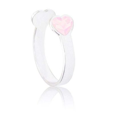 Anillo Sweet girl love de plata - Rose