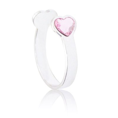 Anillo Sweet girl love de plata - Rosaline