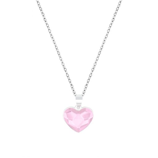Collar Sweet girl love de plata - Rosaline