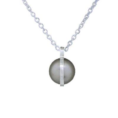 Collar Symbols en plata con perlas Sw Platinium