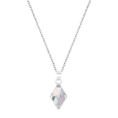 Colgante Rhombus de plata - Crystal