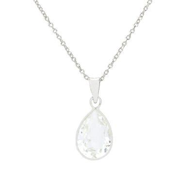 Colgante Swears de plata – Crystal