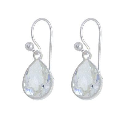 Pendiente Swears de plata - Crystal