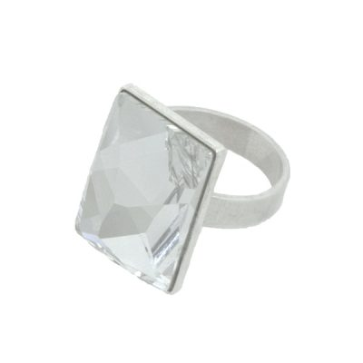 Anillo Polygon - Crystal