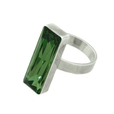 Anillo Polygon - Emerald