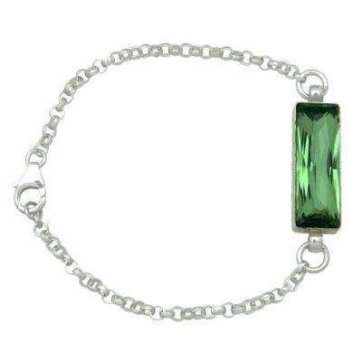 Pulsera Polygon Emerald