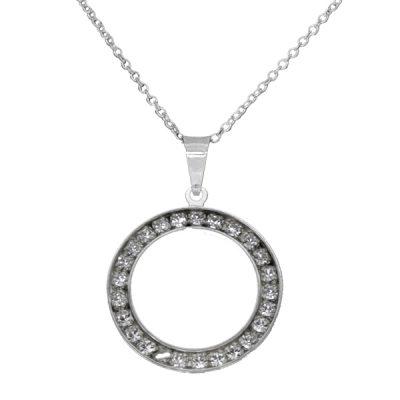 Colgante Daydream circunferencia de plata